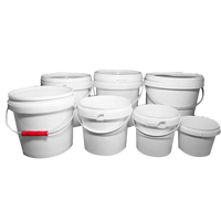 PP/food grade 1L plastic bucket for the fruit