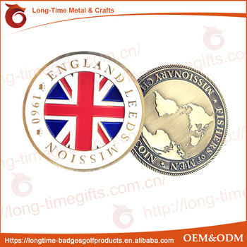 ENGLAND LEEDS MISSIONARY CHALLENGE COIN
