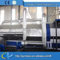 Pyrolysis oil distillation plant waste plastic recycling machine