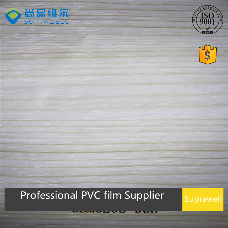 light color Pine wood grain PVC decoration film for interior furniture