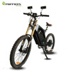 Stealth bomber powerful 48v 2000w electric dirt bike for adults with mirror