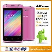 Factory wholesale Android MTK 6572 china 3g wifi mobile phone