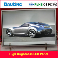 dauing 19inch 800nit to 1500nits sunlight readable High brightness industry LCD panel with optical bonding