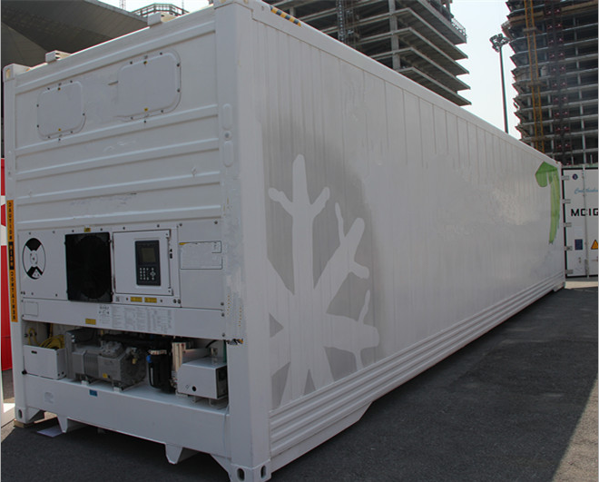 brand new Reefer container