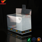 wanli brand high quality easy to hold folding clear square pp pet pvc plastic packaging box