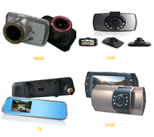 Various Styles Full HD 1080P Car DVR Car Dash Cam Camera With TF Card Video Recorder
