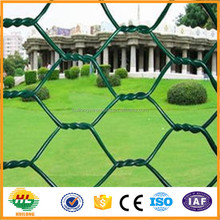 Factory sale top sale pvc/ galvanized hexagonal wire mesh for chicken/animal/safety fence China wholesale