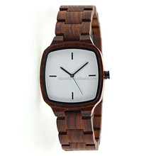 Newest design wholesale Wood watch custom logo fashion wrist watch