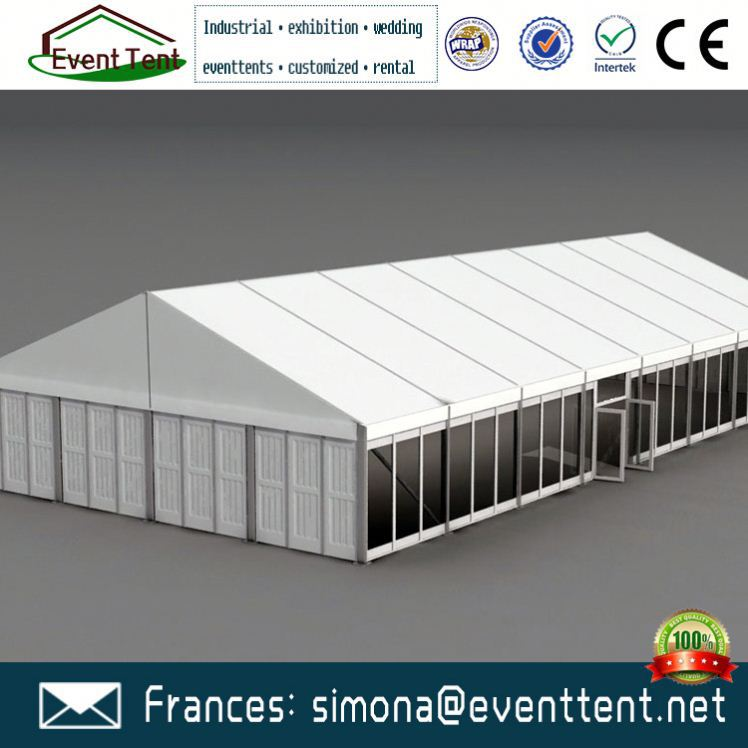 flame retardant cubicle water resistant event tent with lighting electricity