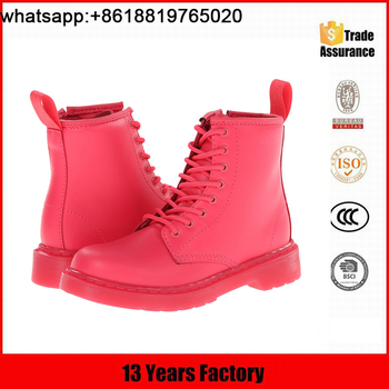 New kids boots for girls, children's winter shoes, girl leather boot