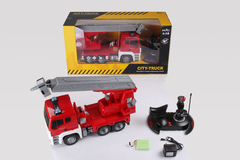 DWI Dowellin 1:18 remote control truck trailer with 360 degree turning function
