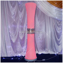 High quality resin column wedding decoration column;Decorative mirror&resin wedding pillar/vase