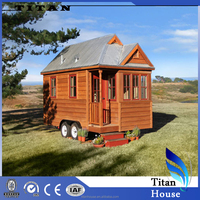Light Steel Framing Wooden House Trailer Kitset