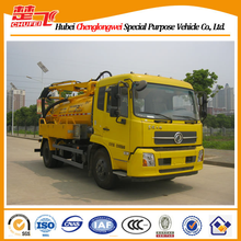 Dongfeng 4*2 sewage suction truck 5CBM sewer suction vacuum truck