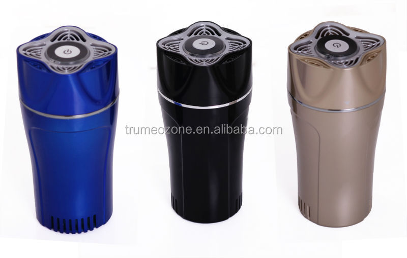 Newest uv ti02 active carbon filter Aroma car freshener ozone generator disinfector deodorizer