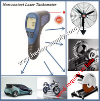 2016 digital laser tachometer rpm meter non contact car digital meter for car and motorcycle