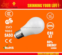 New style energy saving wide beam angle COB 3W 5W 7W 9W e27 led light bulb with CE ROHS approved