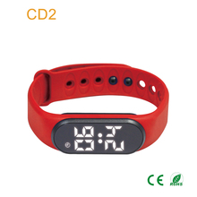 Vibrating alarm watch digital sound musical reminder wrist watch countdown timer for kids