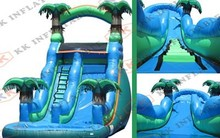 Top new products inflatable water slide sale