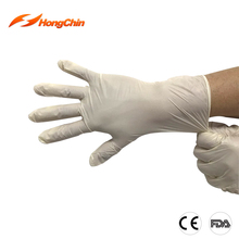 Light weight comfortable surgical vinyl gloves with CE/FDA