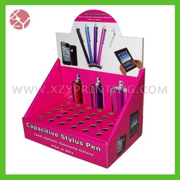 High quality capacitive stylus colorful pen display box
