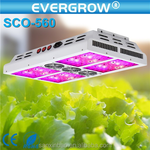 Switchable 2016 New 600w full spectrum led grow lights with 5w led chips