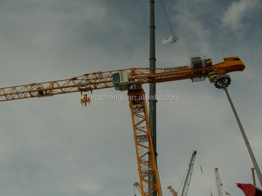QTZ63(5010) Best-price 4t mini Fixed Construction Tower Crane
