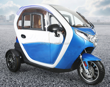 Cabin mobility scooter; fully enclosed mobility scooter; electric car for adult and family use