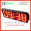 outdoor stadium remote control led clock display