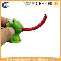 Novelty Plastic Squeeze Animal Tongue Pop Popeyed Toys