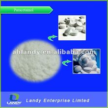 Paracetamol fine white powder