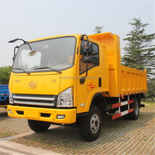 2016 FAW dump truck 6ton diesel engine 4x4 mini dump trucks for sale