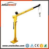 Fully stocked easy operation truck mounted crane
