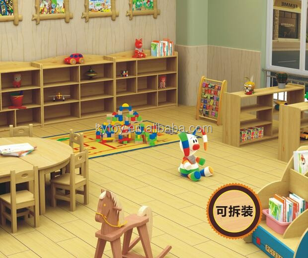 Lovely kindergarten kid cabinets