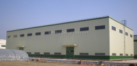prefabricated metal structure warehouse