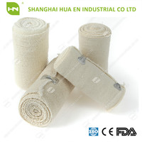 Made in China skin and white color high quality medical cotton bandage