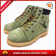 Black Non Slip Oil Resistance Safety Boots Brand Work Shoes from China Supplier