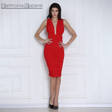 W611 Low Price Ladies Fashion Summer Drape Mesh Fabric Red Color Multi Way Long Straps Bow Tie backless Brazilian Sexy Dress