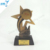 Star Shape Of Shoes Ice Hockey Resin Trophy