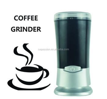 2017 NEW!!! Black two types of blade household coffee grinder 200W hot seller in india