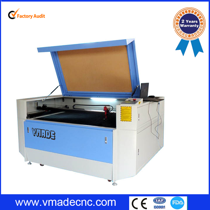 2015 factory price co2 fabric laser cutting machine for acrylic leather wood