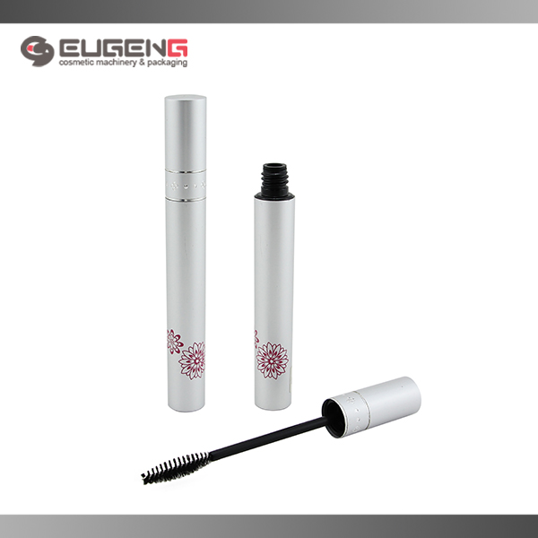Lovely aluminium cosmetic empty mascara tube packaging