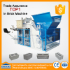 automatic hydraulic concrete cement block brick machine QMY18-15 hydraulic press brick machine