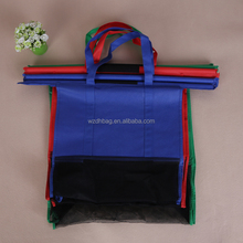 Reusable trolley tote non woven shopping bag