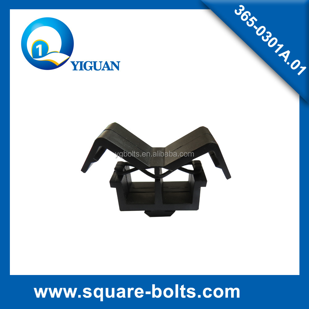 aluminium profile cable holder clips 3014C