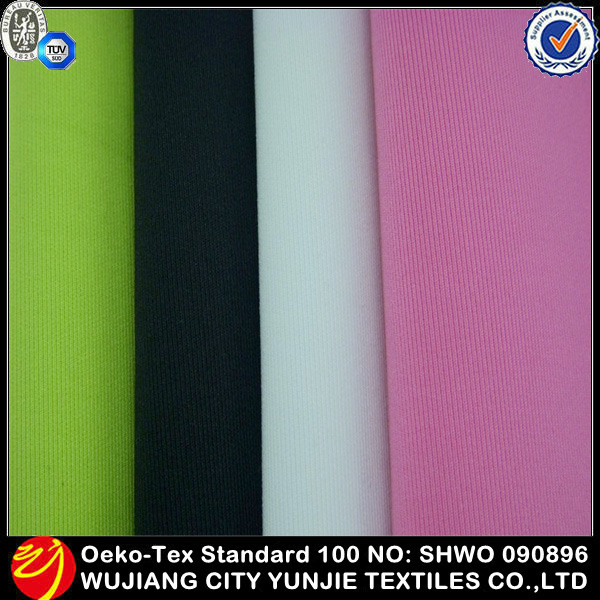 100 Polyester Moisture Wicking Knit Stretch Pointe Fabric