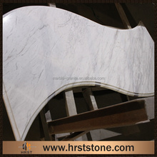 hot sale Volakas white marble bar top price