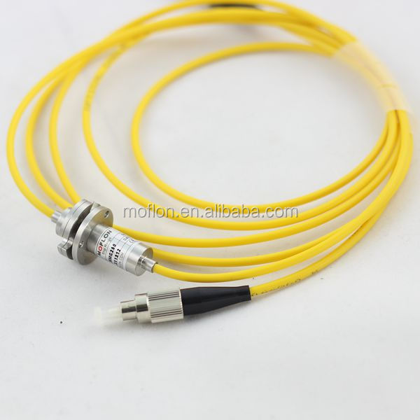 MFO100 (1 channel FORJ) fiber optic rotary joint fiber optic winding fiber optic grind
