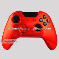 Hot Wholesale Game Accessories For Xbox One Controller Shell Chorme Red