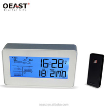 RF 433mhz Wireless Radio Controlled Weather Station Clock